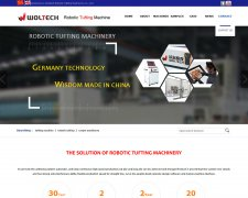 Woltech Robotic Tufting Machin